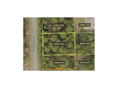 Alva Residential Lots & Land For Sale: 2020 Roosevelt Ave