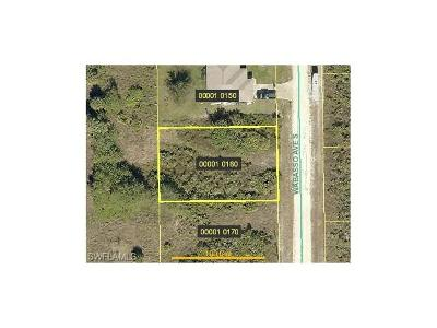 Lehigh Acres FL Residential Lots & Land For Sale: $4,750