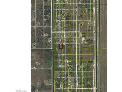 Hendry County Residential Lots & Land For Sale: 7907 16th Pl