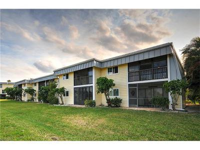 Fort Myers Beach Condo/Townhouse For Sale: 7760 Buccaneer Dr #A12