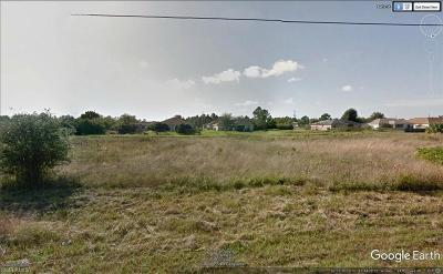 Lehigh Acres FL Residential Lots & Land For Sale: $133,000