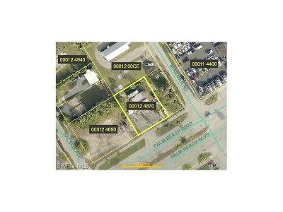 Fort Myers Commercial Lots & Land For Sale: 4821 Palm Beach Blvd