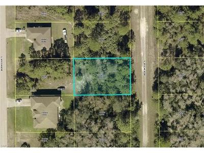 Lehigh Acres Residential Lots & Land For Sale: 810 Worth Ave S