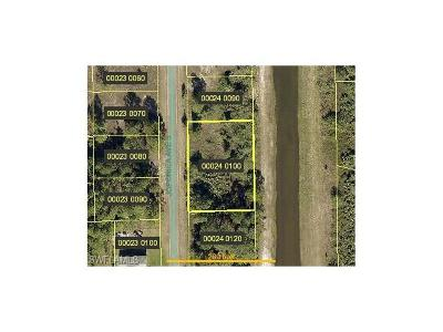Lehigh Acres FL Residential Lots & Land For Sale: $9,000