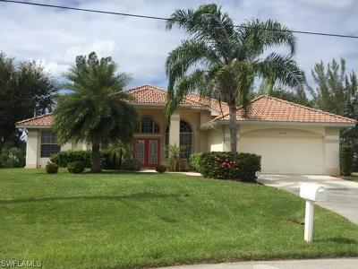 Cape Coral Single Family Home For Sale: 2728 SW 17th Ave