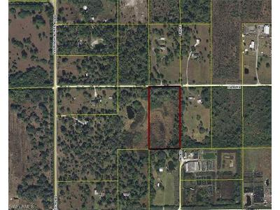 Hendry County Residential Lots & Land For Sale: 13822 Hamlin Ave