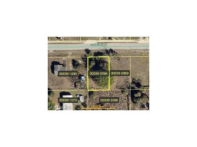 Alva Residential Lots & Land For Sale: 23030 Avenue D