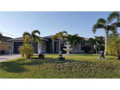 Cape Coral Single Family Home Pending With Contingencies: 229 NW 15th St