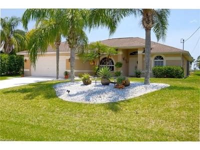 Cape Coral Single Family Home For Sale: 344 NE 18th St