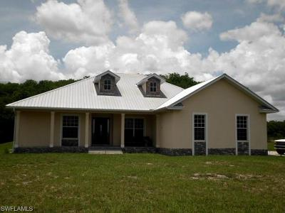 Glades County Single Family Home For Sale: 2414 Fernwood Ln