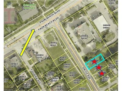 Fort Myers Commercial Lots & Land For Sale: 193 Ortiz Ave