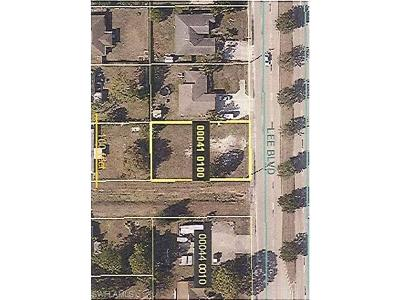 Lehigh Acres Residential Lots & Land For Sale: 3913 Lee Blvd