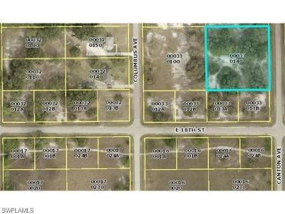 Lehigh Acres Residential Lots & Land For Sale: 1803 Canton Ave