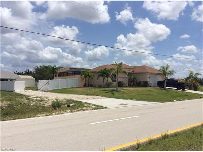 Cape Coral FL Single Family Home For Sale: $274,900