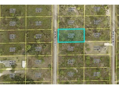 Lehigh Acres FL Residential Lots & Land For Sale: $10,600