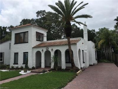 Single Family Home For Sale: 1540 Barcelona Ave