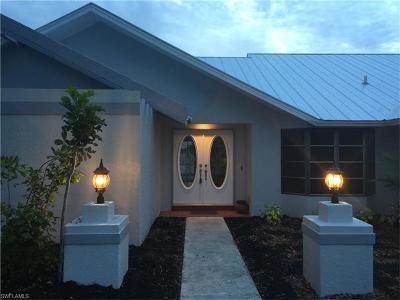 Cape Coral Single Family Home For Sale: 3512 Pelican Blvd