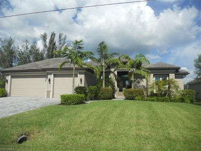 Cape Coral Single Family Home For Sale: 4343 SW 18th Pl