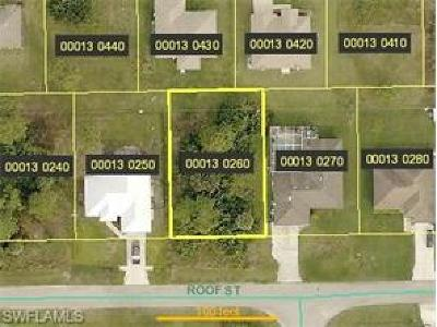 Fort Myers Residential Lots & Land For Sale: 14141 Roof St