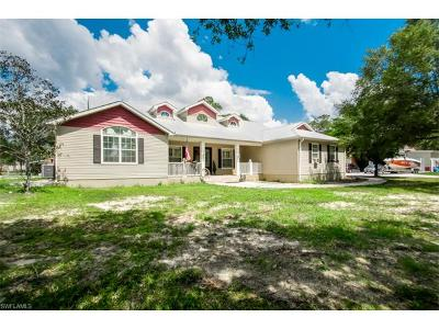 North Fort Myers Single Family Home For Sale: 17660 Wells Rd
