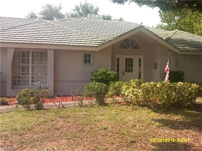 North Fort Myers Single Family Home For Sale: 4315 Perth Ct