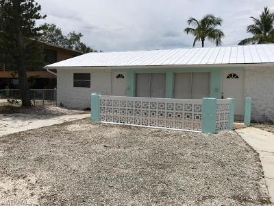 Fort Myers Beach Multi Family Home For Sale: 125-127 Eucalyptus Ct
