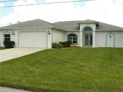 Bonita Springs, Cape Coral, Fort Myers, Fort Myers Beach Single Family Home For Sale: 1120 SE 4th Ter