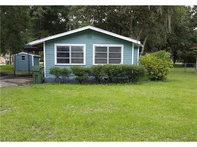 Labelle FL Single Family Home For Sale: $74,900