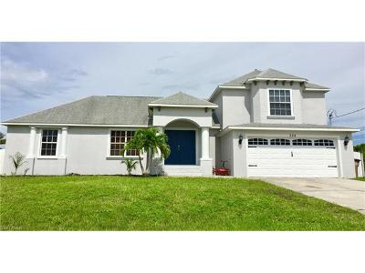 Cape Coral FL Single Family Home For Sale: $259,700