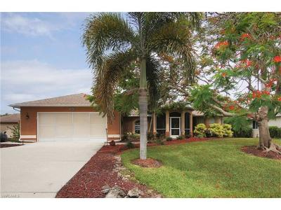 Cape Coral Single Family Home For Sale: 2504 NW 21st Pl