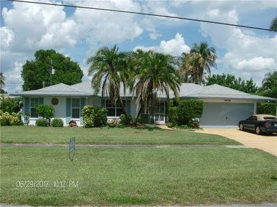 North Fort Myers Single Family Home For Sale: 4618 Orange Grove Blvd