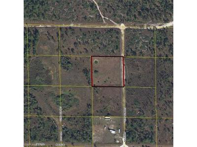 Hendry County Residential Lots & Land For Sale: 4150 Pioneer 21st St