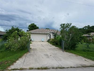 Lehigh Acres Single Family Home For Sale: 1903 Whitman Ave