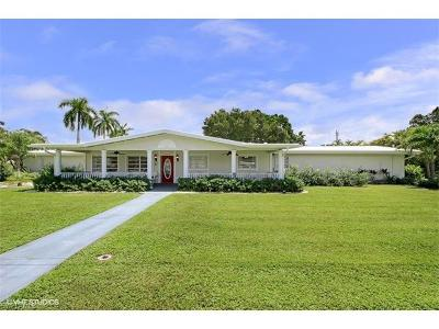 Fort Myers Single Family Home For Sale: 10671 McGregor Blvd W