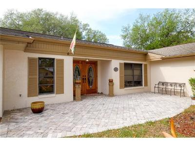 North Fort Myers Single Family Home For Sale: 3816 Hidden Acres Cir N
