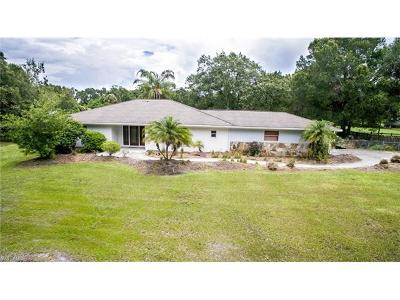 North Fort Myers Single Family Home For Sale: 18220 Old Bayshore Rd