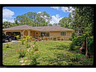 Naples Single Family Home For Sale: 5760 Star Grass Ln
