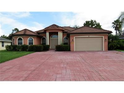 Lehigh Acres Single Family Home For Sale: 5008 Lee Blvd