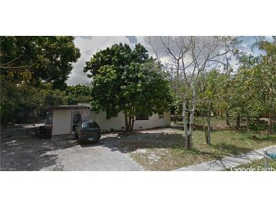 Fort Myers Single Family Home For Sale: 396 Miramar Rd