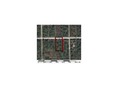 Clewiston Residential Lots & Land For Sale: 836 Appaloosa Ave