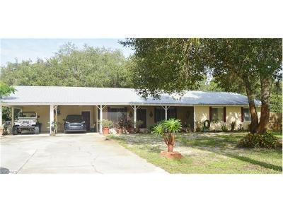 Labelle FL Single Family Home For Sale: $210,900