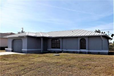 Cape Coral Single Family Home For Sale: 1006 NW 5th Ave