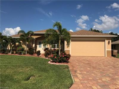 Cape Coral FL Single Family Home For Sale: $329,900