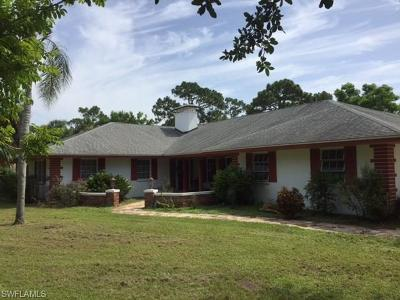 Fort Myers Single Family Home For Sale: 3571 Heritage Ln