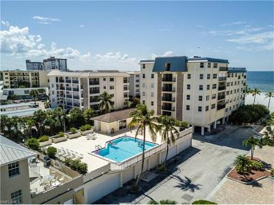Fort Myers Beach Condo/Townhouse For Sale: 2560 Estero Blvd #3E