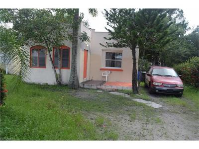 Fort Myers Single Family Home For Sale: 3758 Pearl St