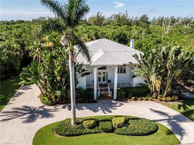 Sanibel Single Family Home For Sale: 1724 Bunting Ln