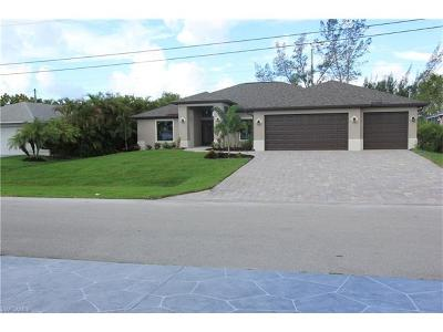 Cape Coral Single Family Home For Sale: 4626 SW 20th Pl