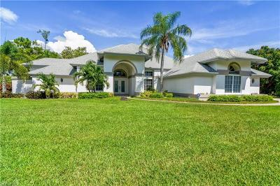 Estero Single Family Home For Sale: 20321 Wildcat Run Dr