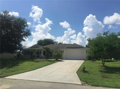 Lehigh Acres FL Single Family Home For Sale: $195,000